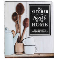 """The Kitchen is the Heart of the Home"" Recipe Organizer"