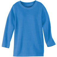 Blue Fleece Knit Pullover Top by Sawyer Creek