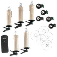 Flameless Candles with Remote, Set of 5