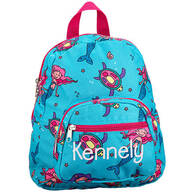 Personalized Mini Mermaid Backpack