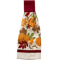 Fall Harvest Hanging Towel