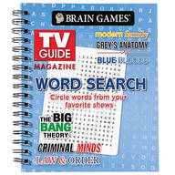 Brain Games®: TV Guide Magazine Word Search Book