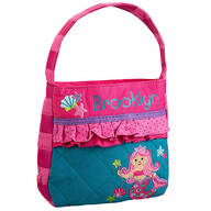 Personalized Stephen Joseph® Quilted Mermaid Purse