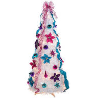 4' Jewel Tone Pull-Up Tree by Holiday Peak™