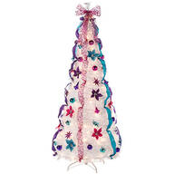 6' Jewel Tone Pull Up Tree by Holiday Peak™    XL