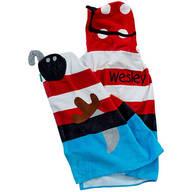 Personailzed Stephen Joseph® Hooded Pirate Towel
