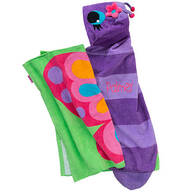 Personalized Stephen Joseph® Hooded Butterfly Towel