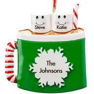 Personalized Cocoa Mug Family Ornament