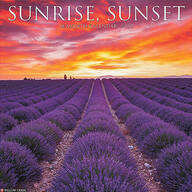 Sunrise Sunset Wall Calendar
