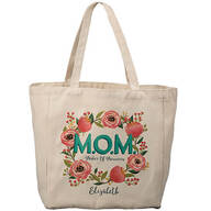 Personalized M.O.M. Makers of Memories Tote