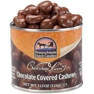 Milk Chocolate Covered Cashews Tin, 11.5 oz.