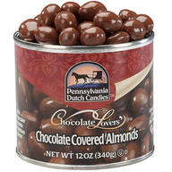 Milk Chocolate Covered Almonds Tin, 12 oz.