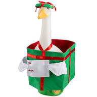 Christmas Present Goose Outfit