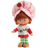"6"" Retro Stawberry Shortcake Doll"