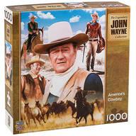 America's Cowboy John Wayne Puzzle 1,000 Pc