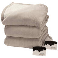 Oakridge™ Micro Plush & Sherpa Heated Blanket by Biddeford