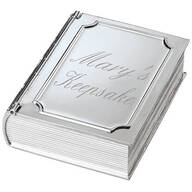 Personalized Book Keepsake Box
