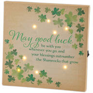 Mini Irish Prayer Canvas by Holiday Peak™