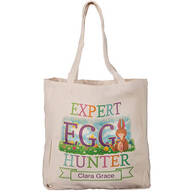 Personalized Egg Hunter Tote Bag