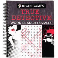 Brain Games® True Detective Word Search