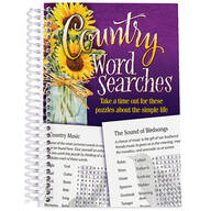 Country Word Searches Book