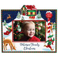 Personalized Christmas Break at the North Pole Frame