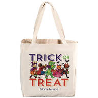 Personalized Children's Halloween Tote