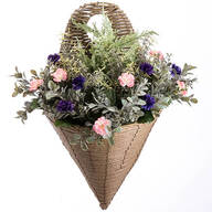Morning Glory Wall Basket by OakRidge™