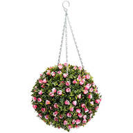 Hanging Rose Topiary Ball by OakRidge™