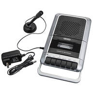 Jensen® Portable Cassette Player & Recorder