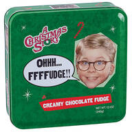 A Christmas Story Fudge Tin, Creamy Chocolate, 12 oz.