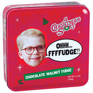 A Christmas Story Fudge Tin, Chocolate Walnut, 12oz.