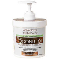 Advanced Clinicals® Coconut Oil Moisturizing Cream