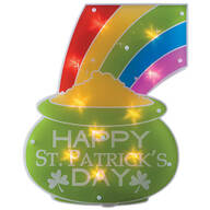 Happy St. Patrick's Day Shimmer Light