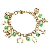 Good Luck Charm Bracelet with Magnetic Closure