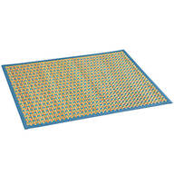 Checked Bamboo Rug