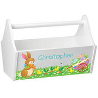 Personalized Easter Toy Caddy