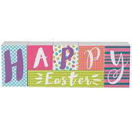 Reversible Easter/Spring Block Sign Set