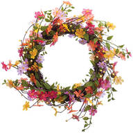 Wildflower Twig Wreath by OakRidge™