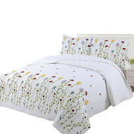 Wild Flowers Embroidered Bedspread Set by OakRidge®