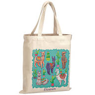 Personalized Llamas Children's Tote