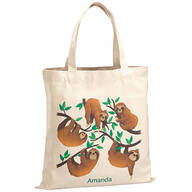 Personalized Sloths Children's Tote