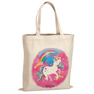 Personalized Unicorn Children's Tote