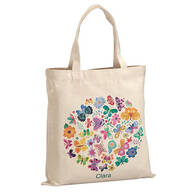 Personalized Butterflies Children's Tote