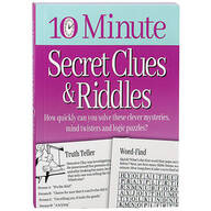 10 Minute Secret Clues & Riddles
