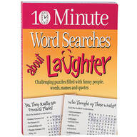 10 Minute Word Searches About Laughter