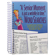 Senior Moment Word Searches