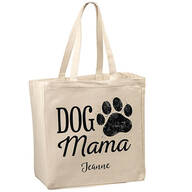 Personalized Dog Mom Tote