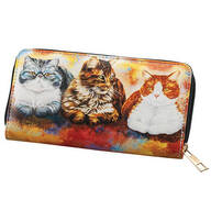 Designer Wallet Cats