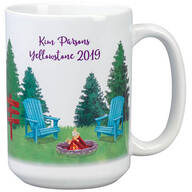 Personalized Happy Camper Mug